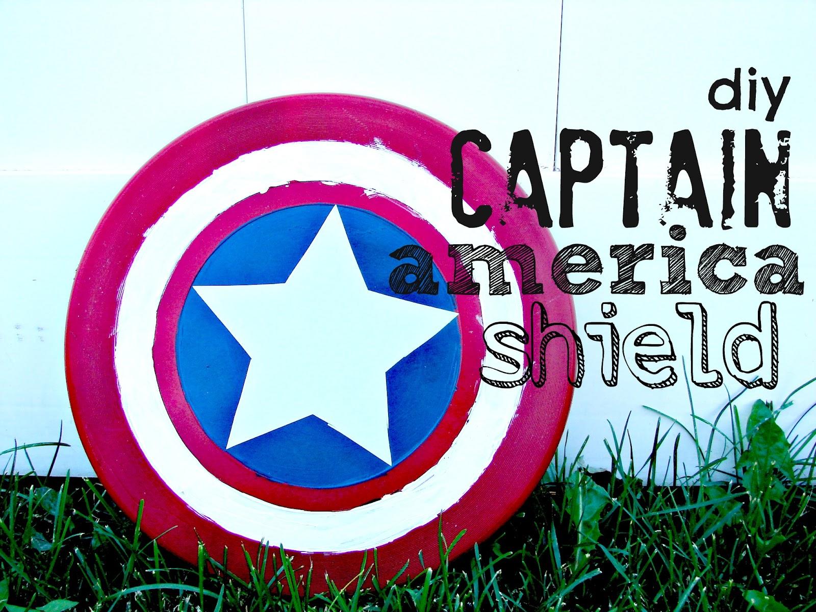 captain america shield... - A girl and a glue gun