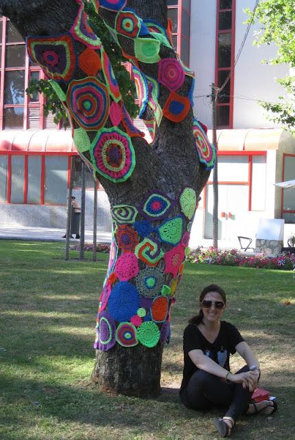 Árvores Tricotadas... e não só :)