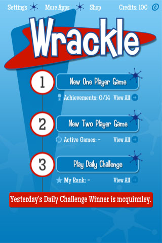 Wrackle Free App Game By Cullaboration Media