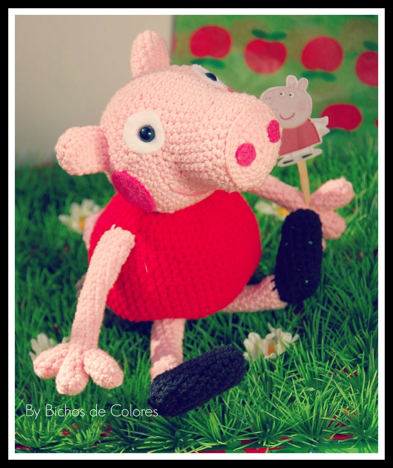 Peppa Pig Amigurumi Taller De Mao : Bichos de colores: Peppa Pig