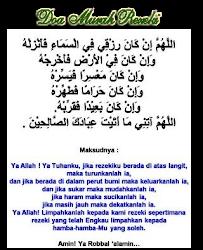 ♥ Doa Murah Rezeki ♥