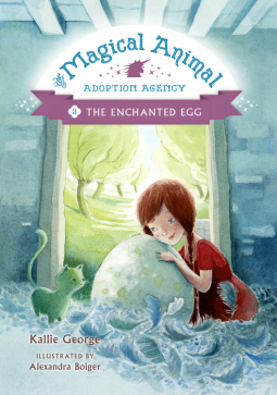 The Magical Animal Adoption Agency, Book 2 The Enchanted Egg cover
