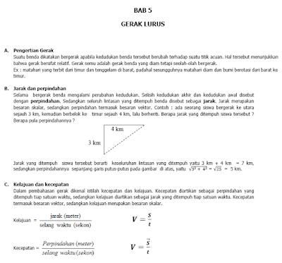 Contoh Modul Fisika SMP
