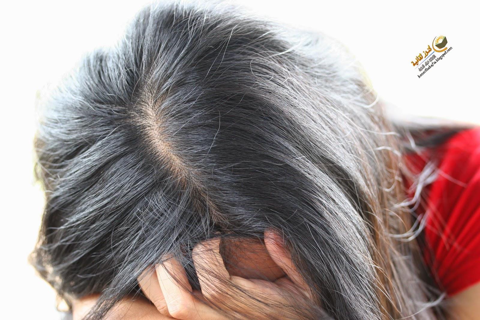 كيف تمنع الشعر من التساقط