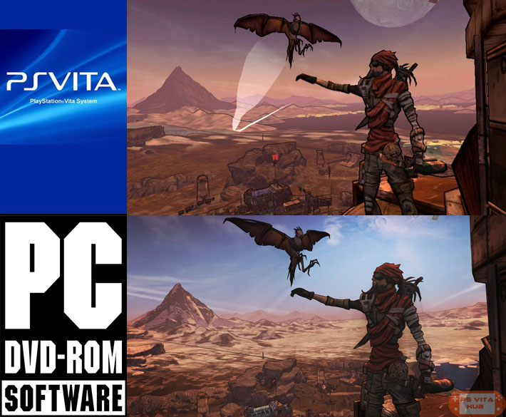 Borderlands+2+PS+Vita+Screenshot+Compari
