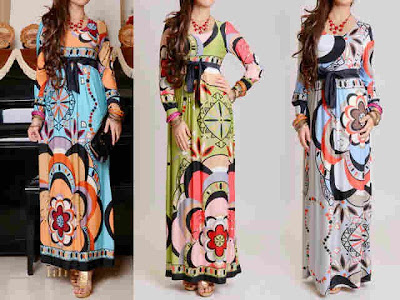 maxi dress korea emillio pucci