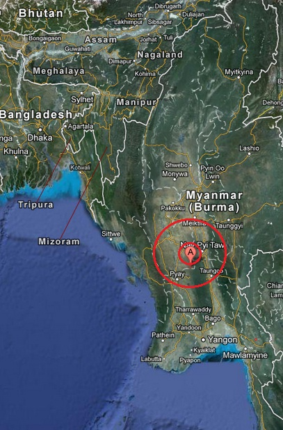 myanmar earthquake 2013 April 03