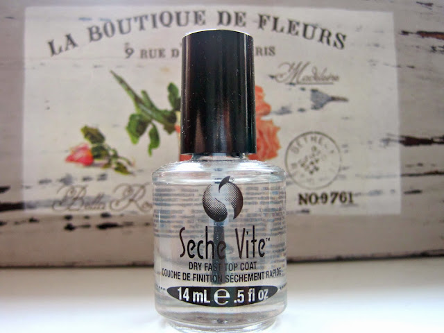 seche vite fast dry top coat review