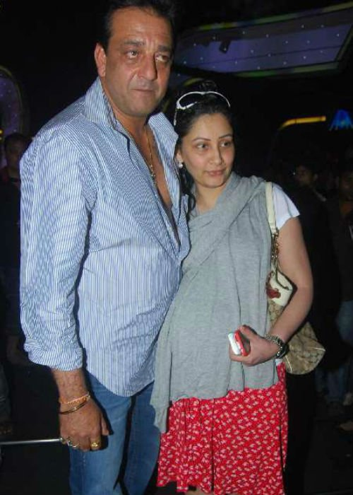 Sanjay+Dutt and family