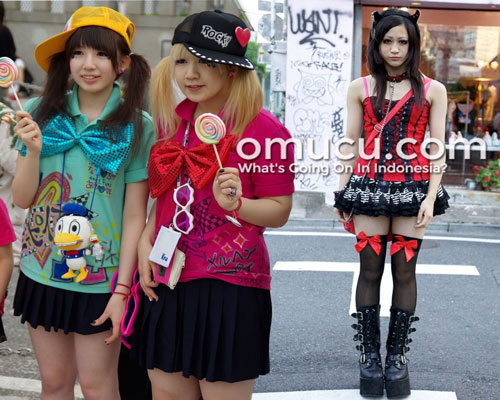 History of Japanese Harajuku Fashion Style