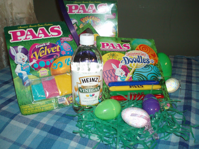 Heinz Vinegar and PAAS Easter Kits
