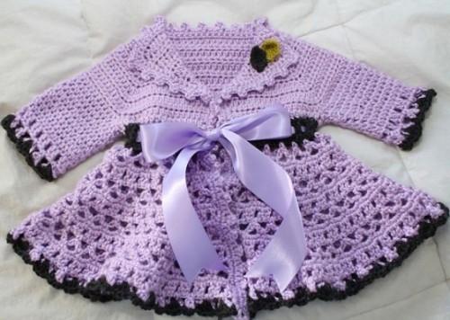 Crochet Victorian Jacket - Free Pattern