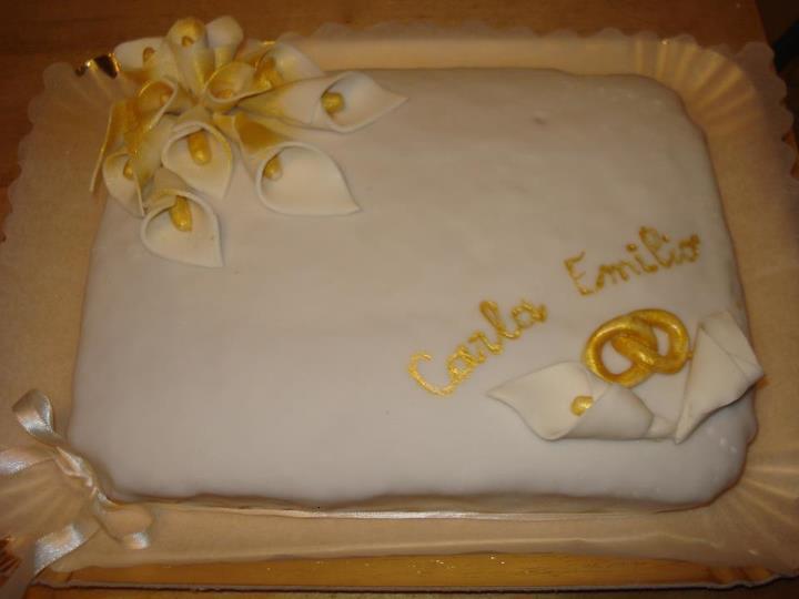 Creativita 39 in evoluzione for Decorazione torte per 50 anni di matrimonio