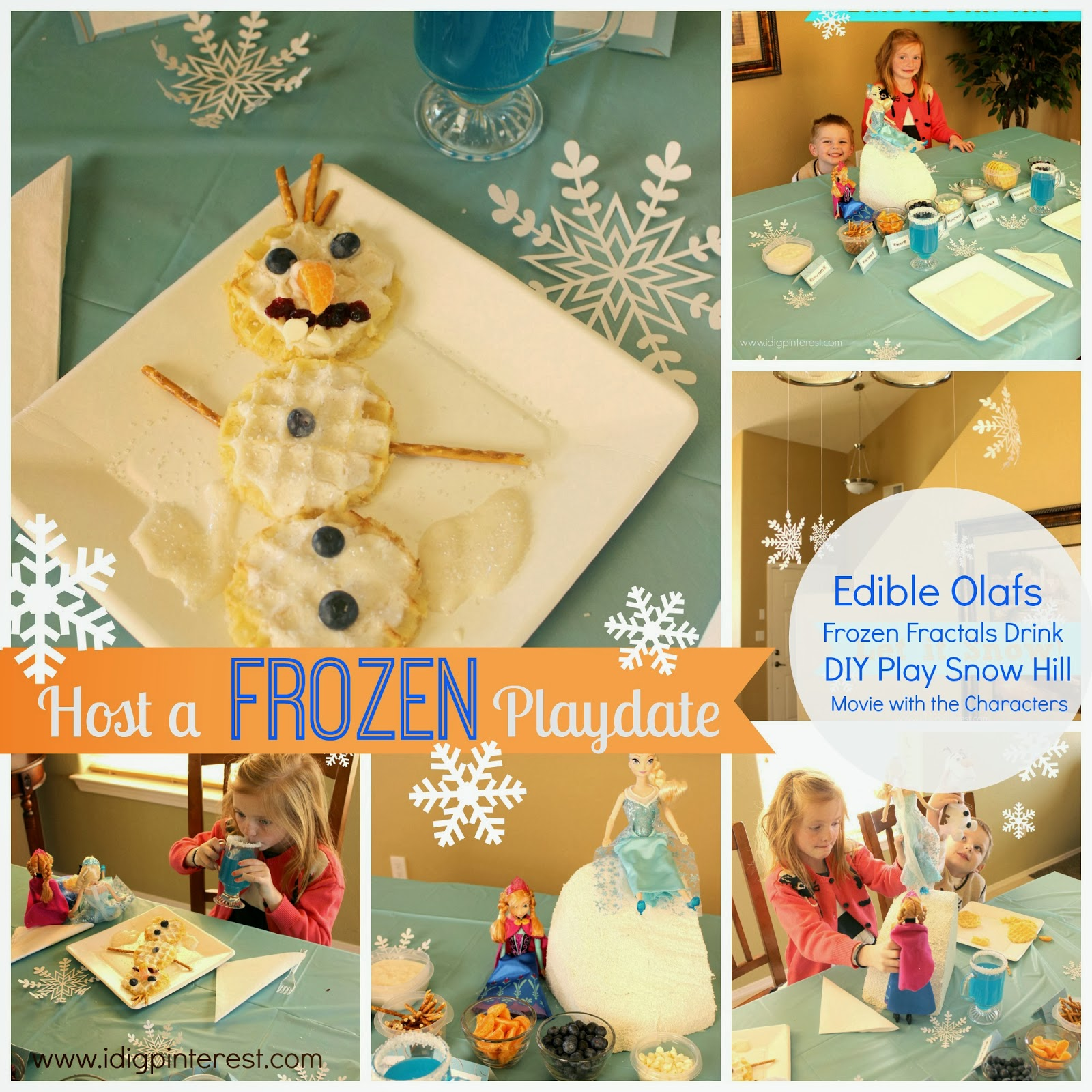 Host a Frozen Playdate by I Dig Pinterest