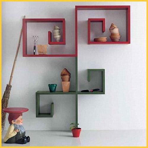 Small Bookshelf On Wall 500 x 500