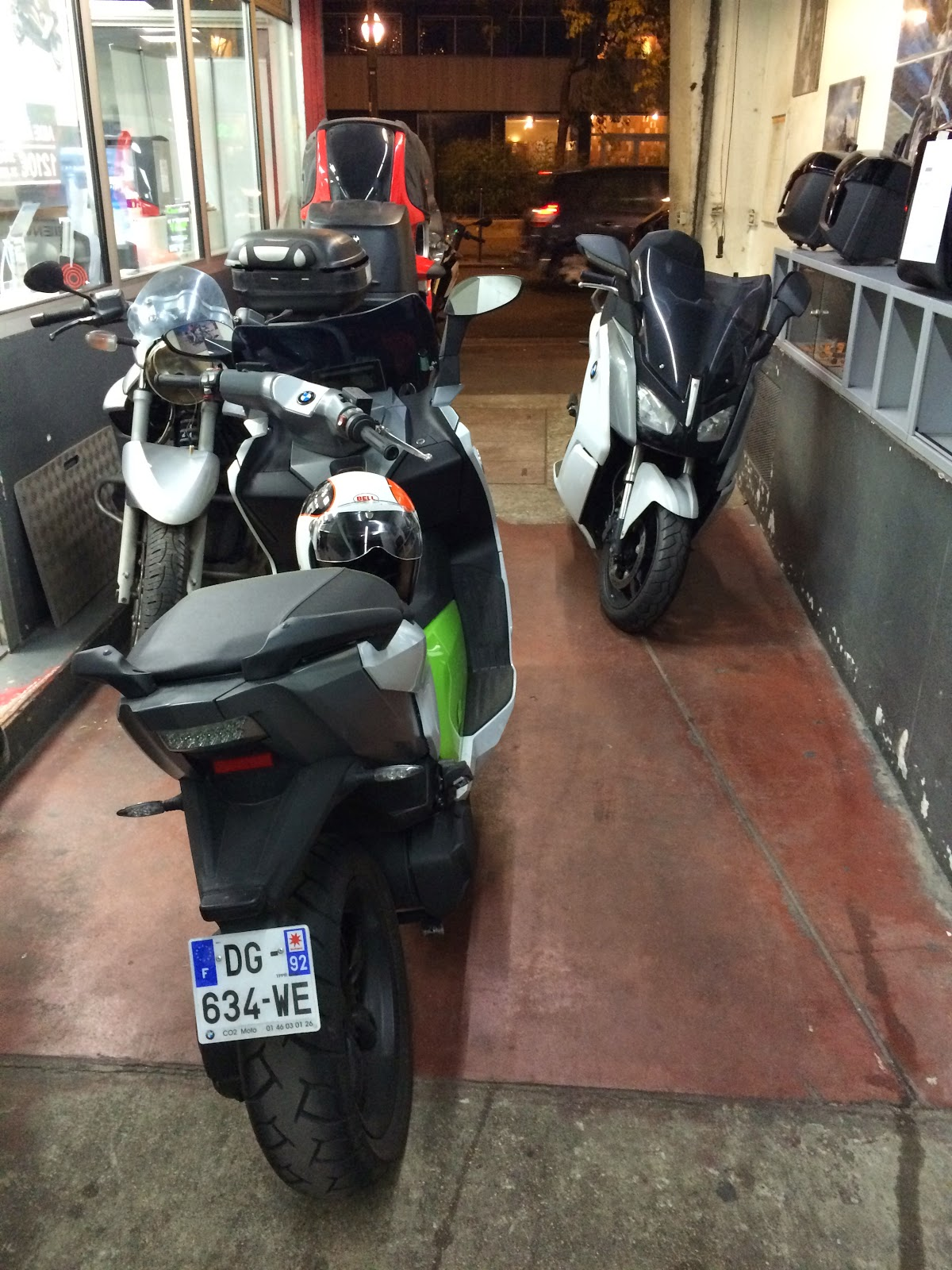 my e-life now !: bmw c evolution - i finally got my scooter back