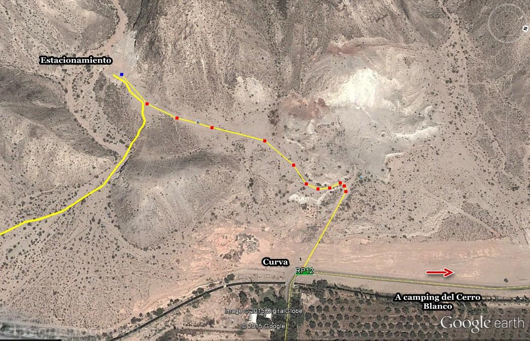 Circuito Zonda San Juan : Trekking san juan: ascenso al cerro blanco el pequeño gran viaje