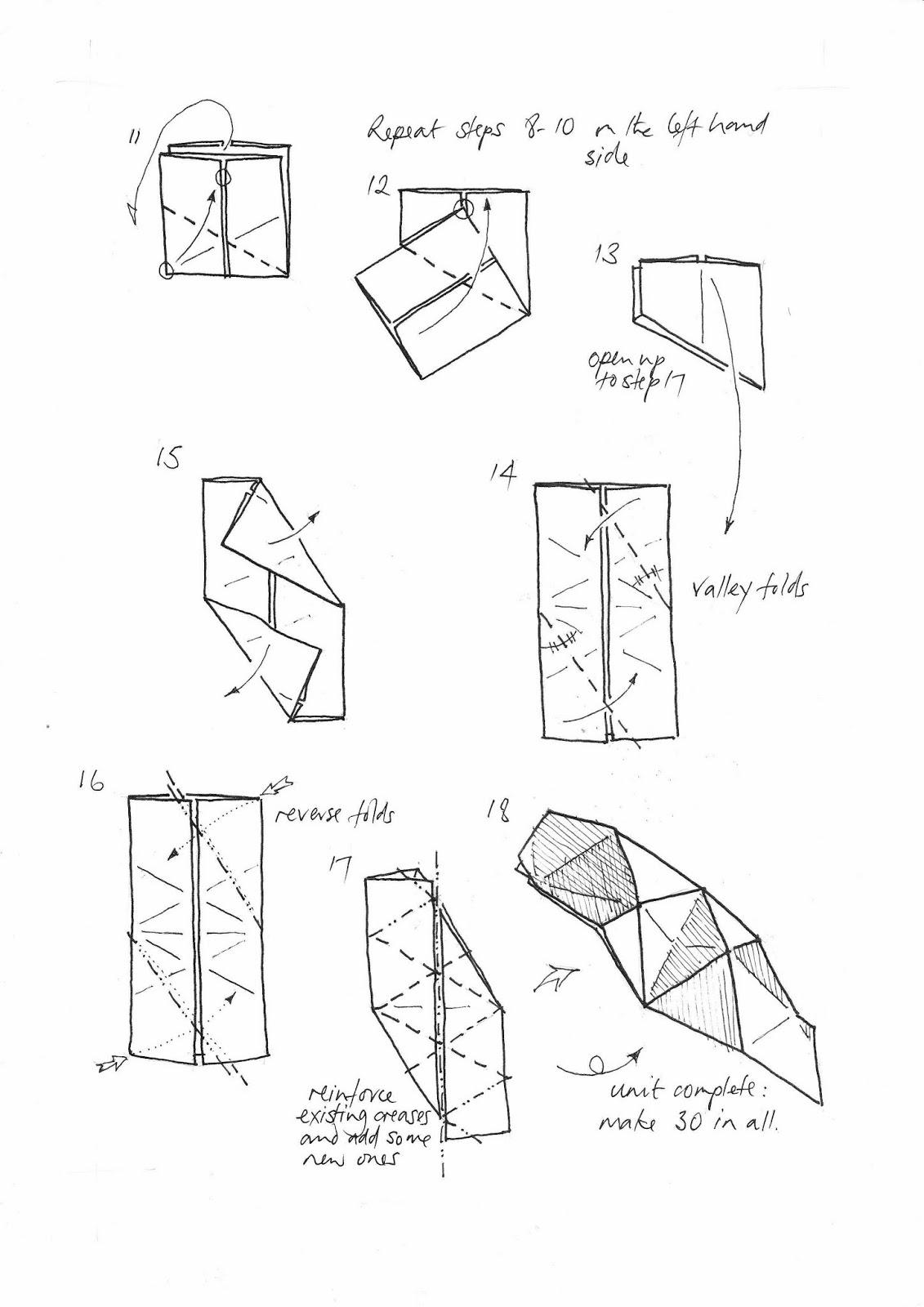 3d Origami Tutorials Instructions