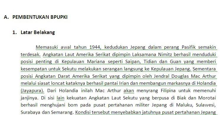 TUGAS SEJARAH : MAKALAH TENTANG UPAYA PERSIAPAN KEMERDEKAAN INDONESIA ~ AkaChopa