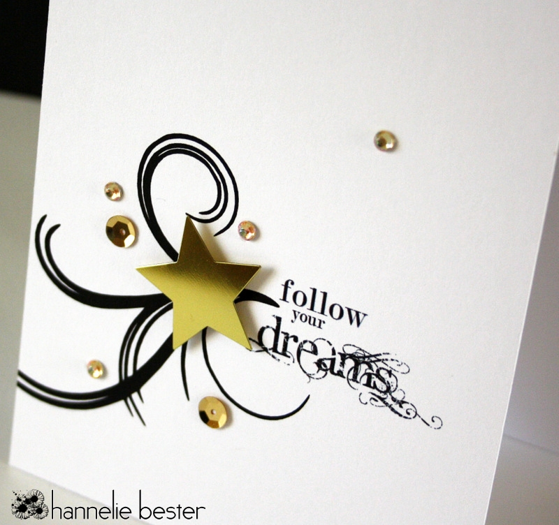 Follow your dreams card