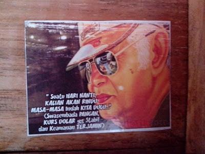 Kita sebagai generasi penerus yang hidup di jaman warisan Suharto ...