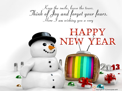 Happy New year 2013 animated