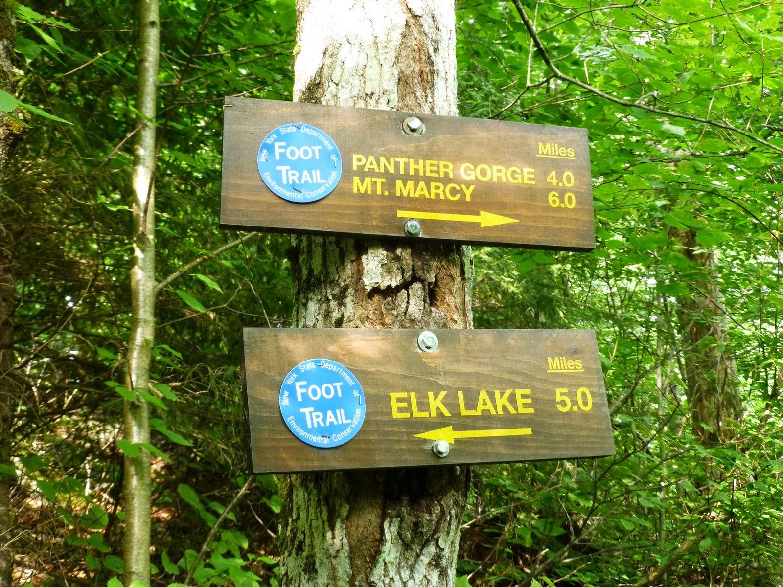 Elk Lake Adirondacks Junction of Elk Lake-marcy