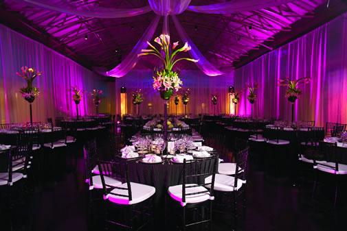 Purple And Black Wedding Reception Tbrb Info