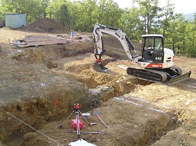 Base de donn e engins et mat riaux de terrassement for Terrassement et fondation