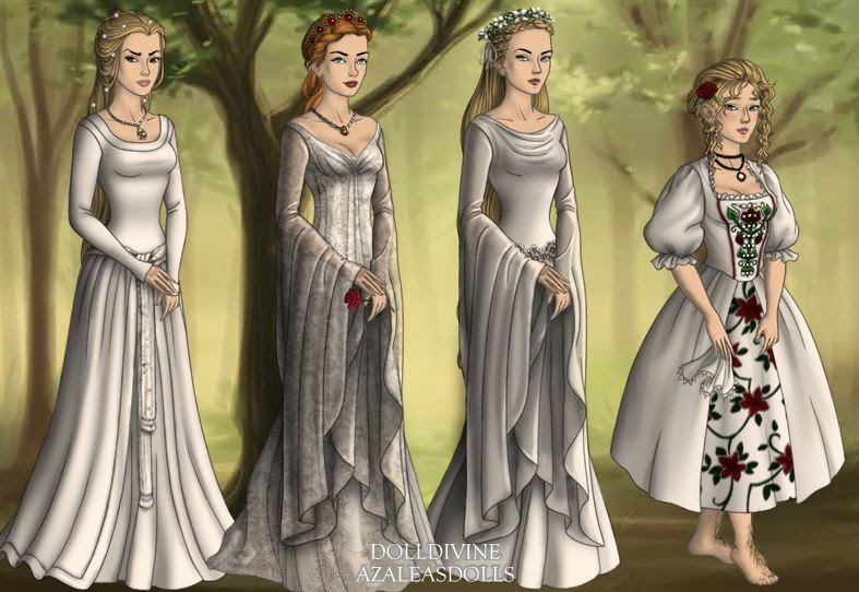 Lord Of The Rings Wedding Dress Cool Galadriel Celtic White