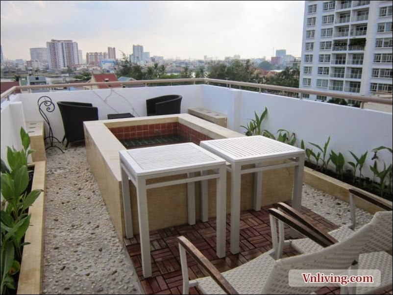 Vang Xuan apartment for rent 1 bedrooms with nice furniture