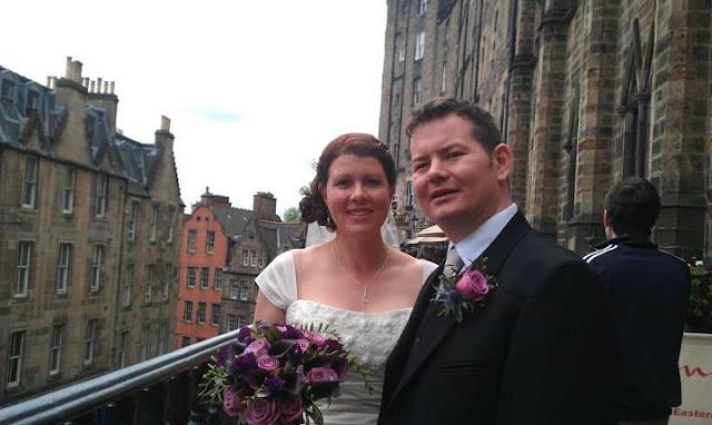 Весілля в Едінбургу, Шотландія