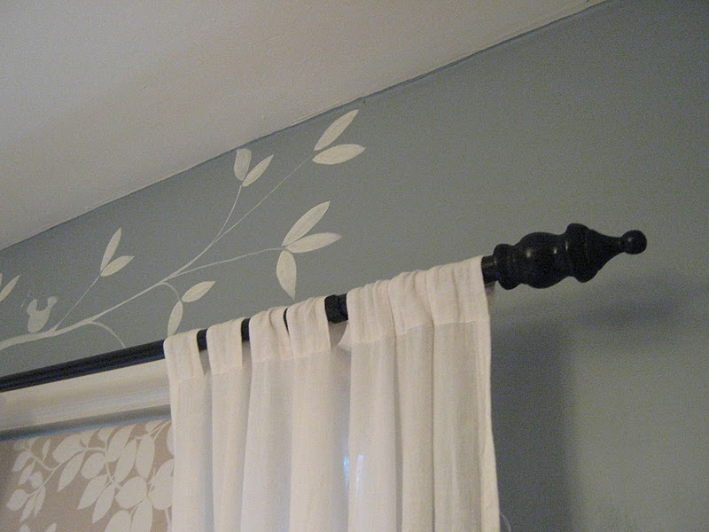 rindy mae the baby 39 s room cheap diy curtain rods