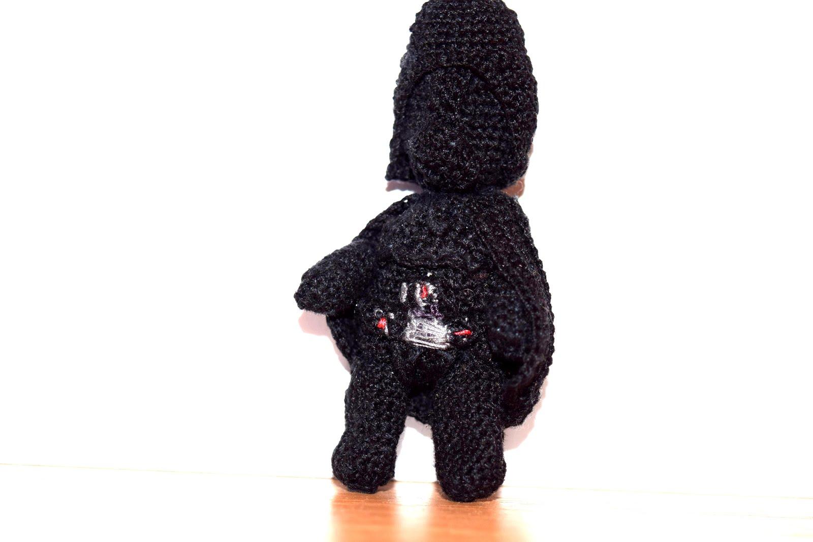 Darth Vader Crochet Amigurumi Bosnamigurumi