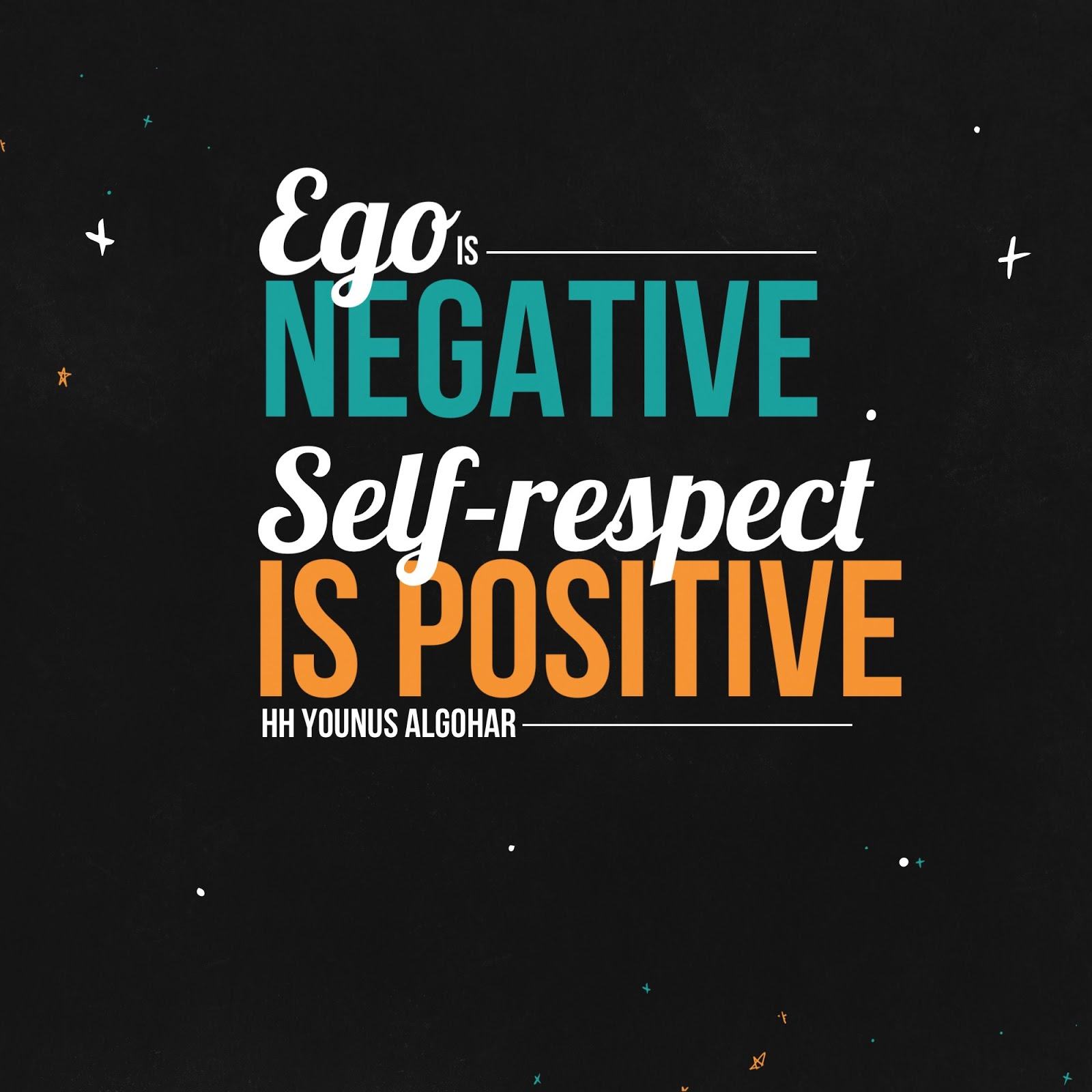 Self Respect Quotes The Official Mfi® Blog Quote Of The Day Ego Is Negative.