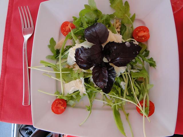 Italian Salad at Bianco Rosso Pasteria, Lviv, Western Ukraine