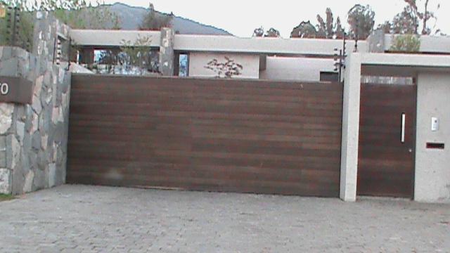 Deco arte portones de madera - Portones de madera para exterior ...