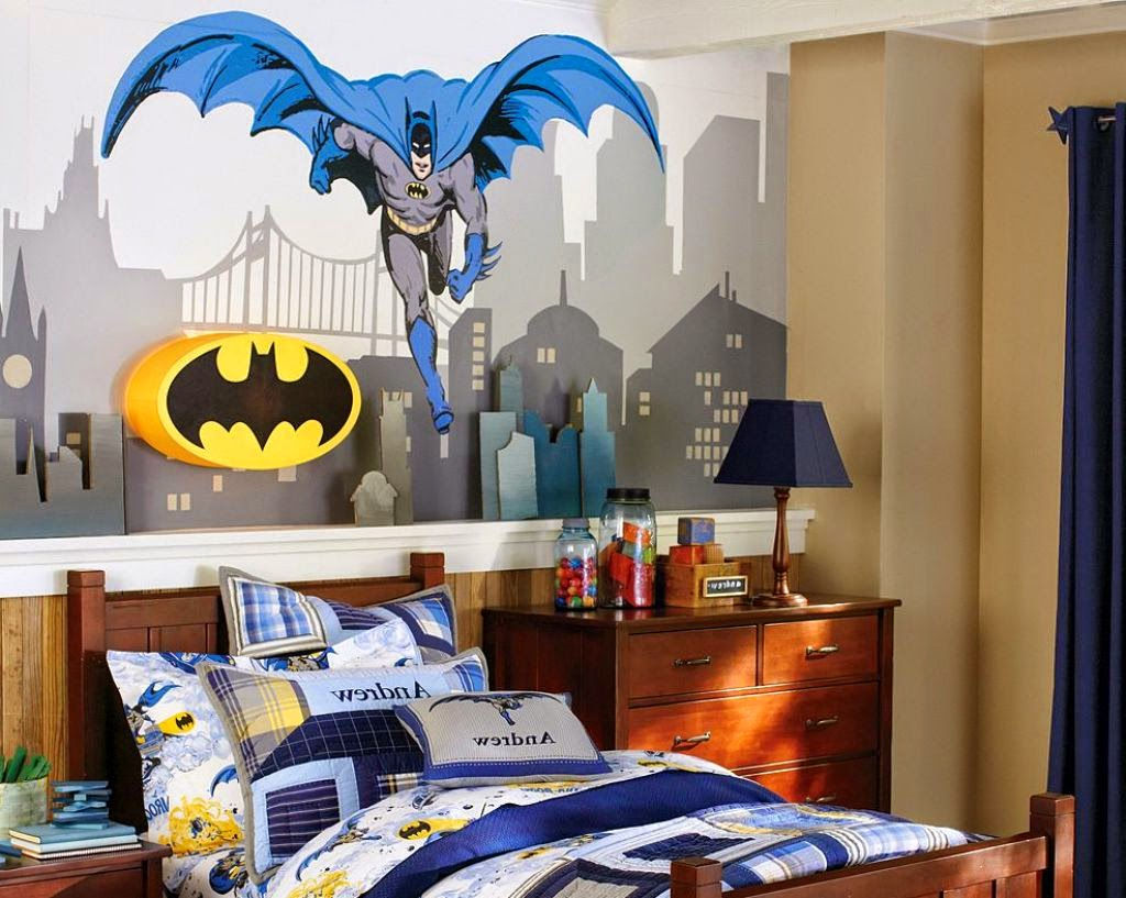 batman themed bedroom design ideas