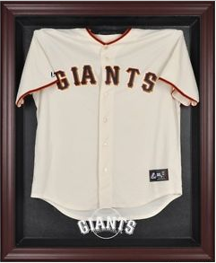 Giants World Series Jersey Display Case