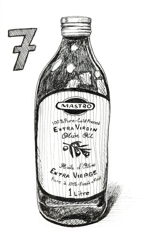 Anau0026#39;s Strictly Sketchbook Every Day Matters #7 - Draw A Bottle From The Kitchen