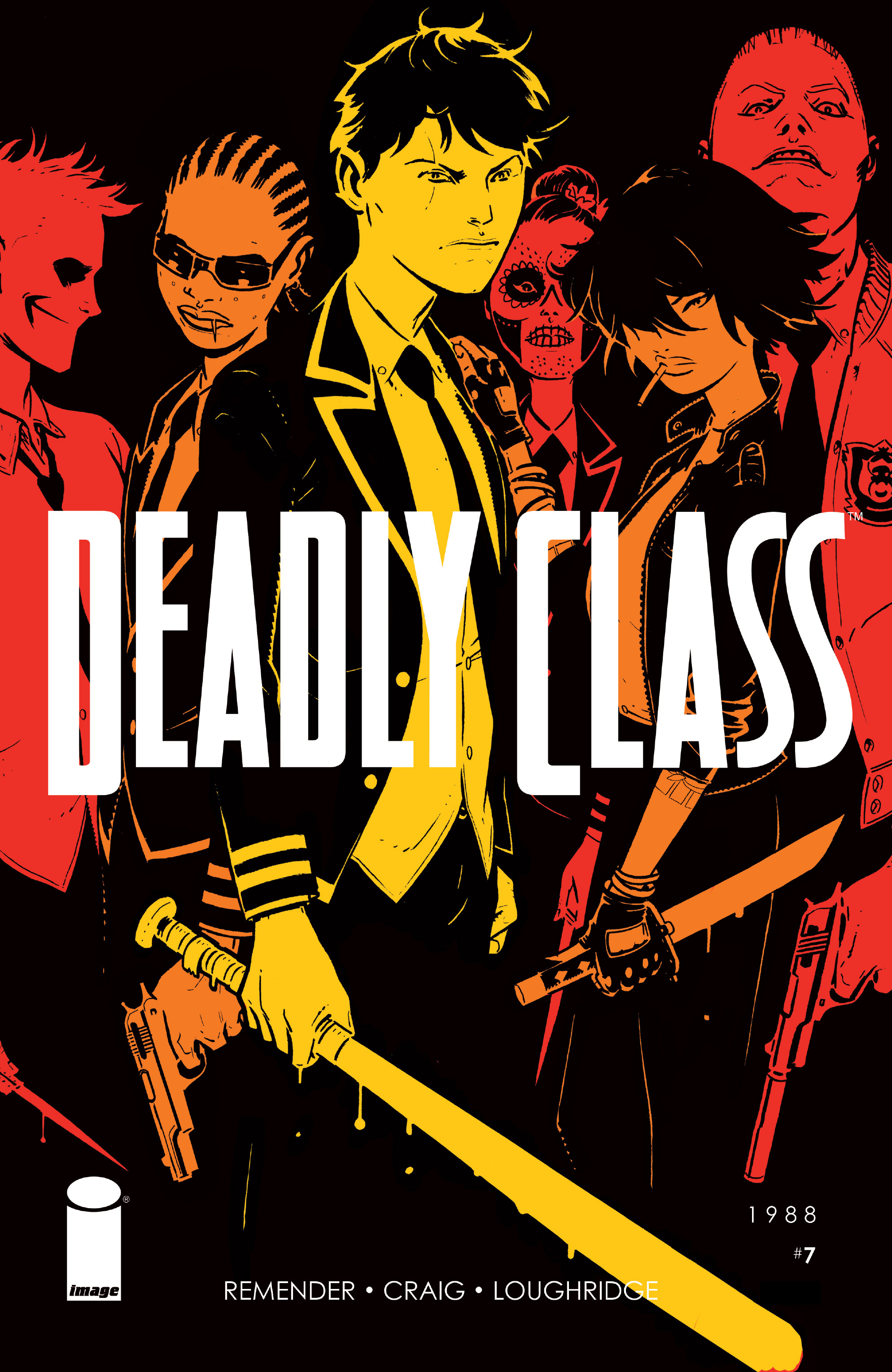 Read online Deadly Class comic -  Issue #7 - 1