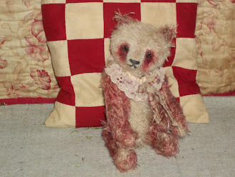A Mohair Teddy Bear for Valentines Day!!