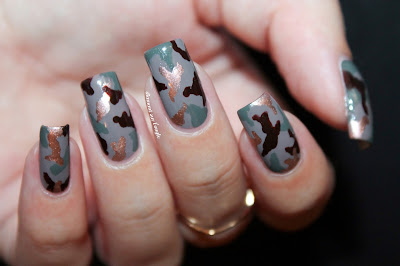 Army Nails // Nail Art