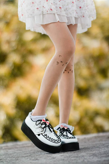 tattoo tights and creepers
