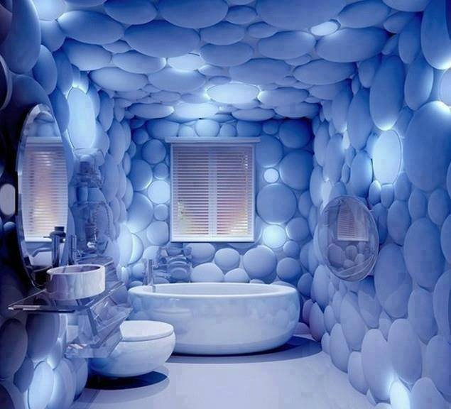 creative bathroom design
