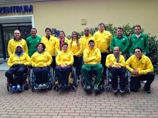 Atiradores brasileiros conquistam índice para o Mundial de Tiro Paradesportivo de Suhl, na Alemanha - Foto: CPB/Reprodução