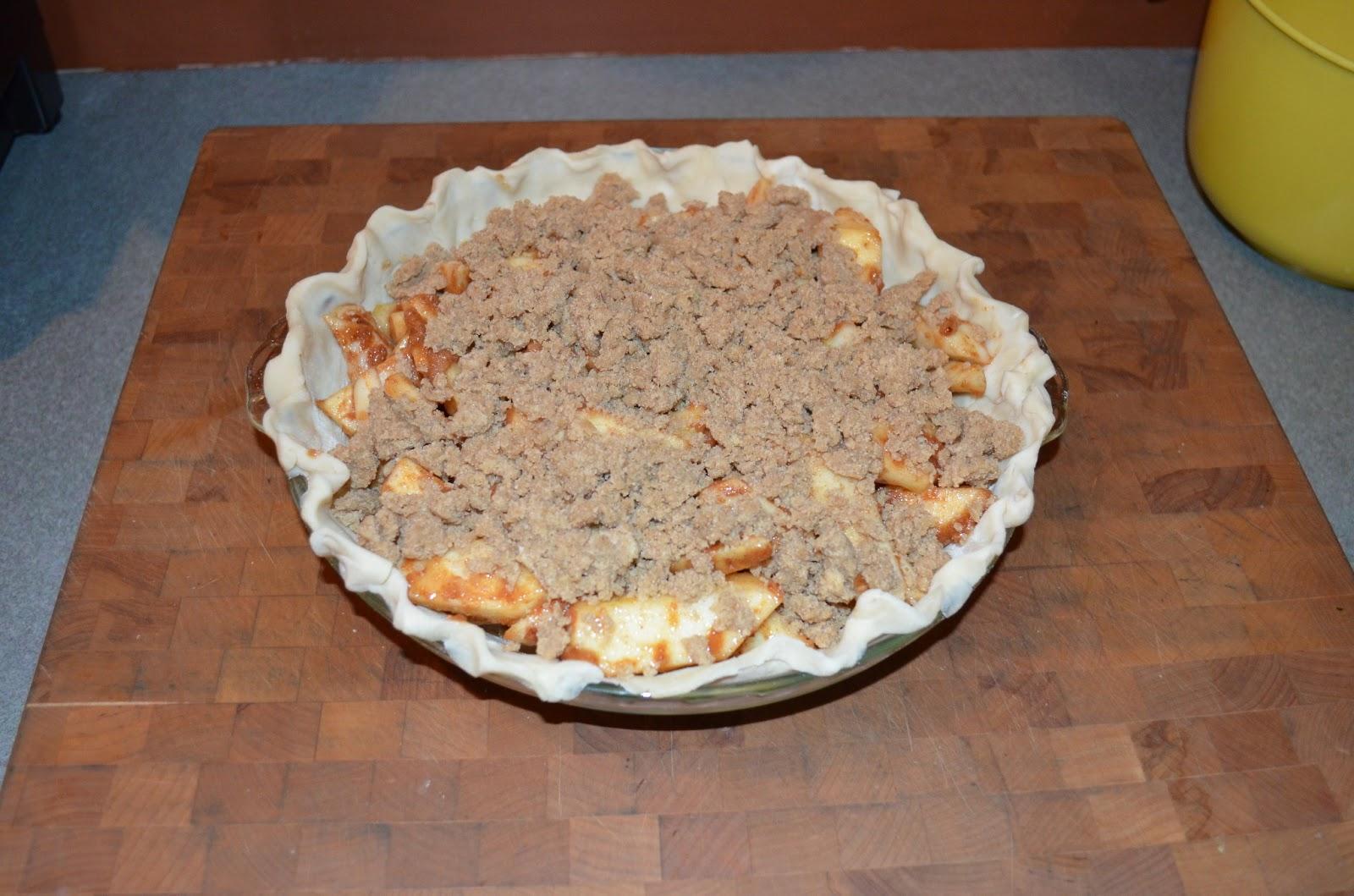 ... : Sunday Supper--Enchiladas--beans---brown paper bag apple pie
