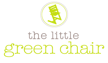 the little green chair