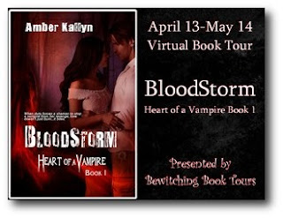 Bloodstorm Release Day Blitz & Giveaway