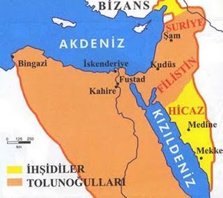 Tolunoğulları Haritası